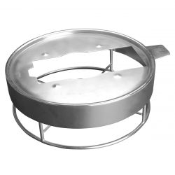 Support pour chafing dish brosse 35 cm