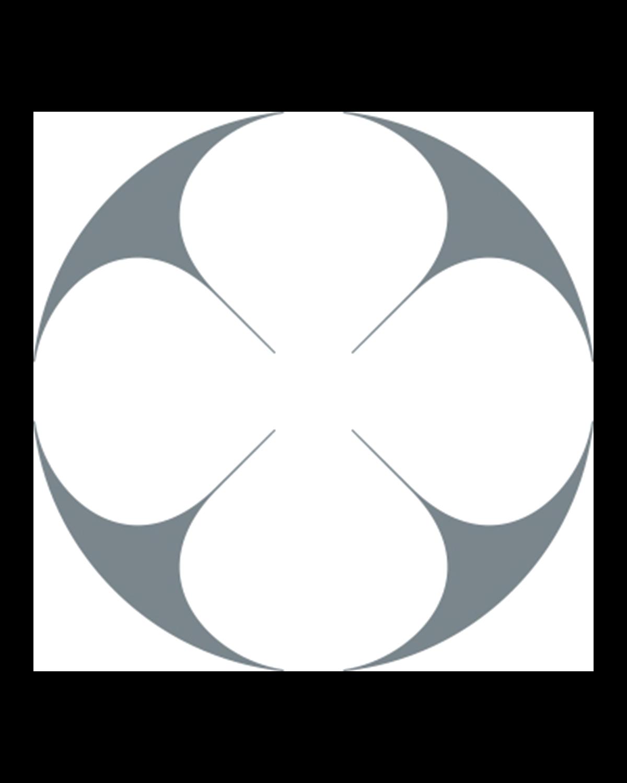 Assiette plate ronde 29 cm pinceau