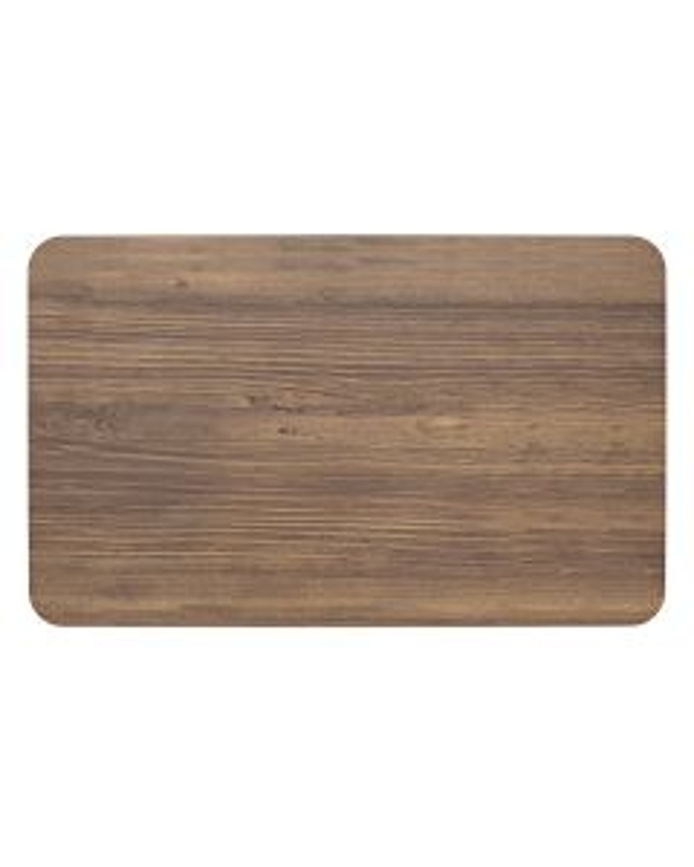 Plateau gn 1/1 mélamine bois 53.5x32.5 cm